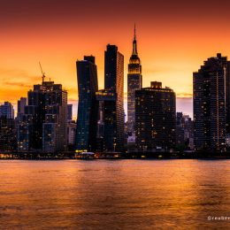 A Manhattan Sunset